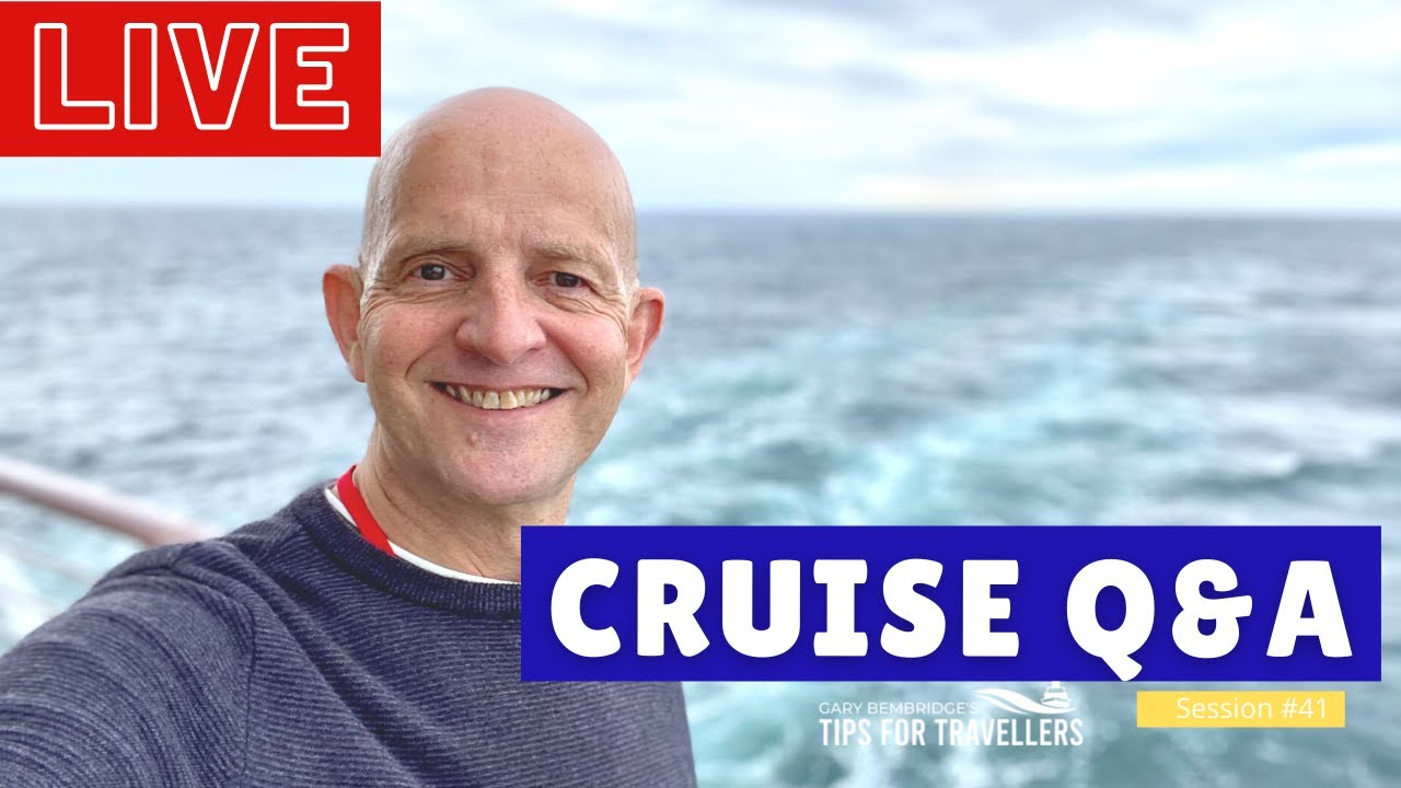 LIVE CRUISE Q&A HOUR #41 - Your Cruising Questions Answered - Saturday 11 September 2021