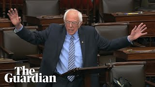 Gambar cover Bernie Sanders mocks Republicans over coronavirus aid: 'The universe is collapsing'