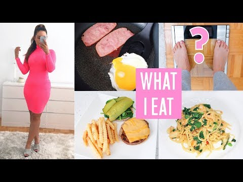 WHAT I EAT IN A DAY TO LOSE WEIGHT! 2019