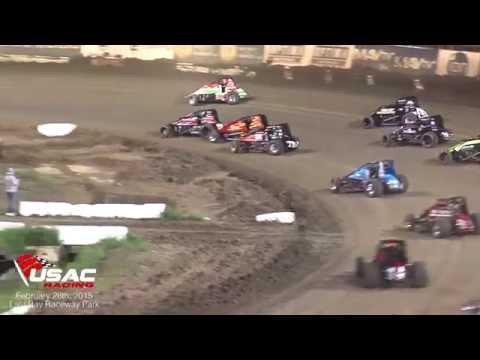 2015 Winter Dirt Games Night #4 Highlights