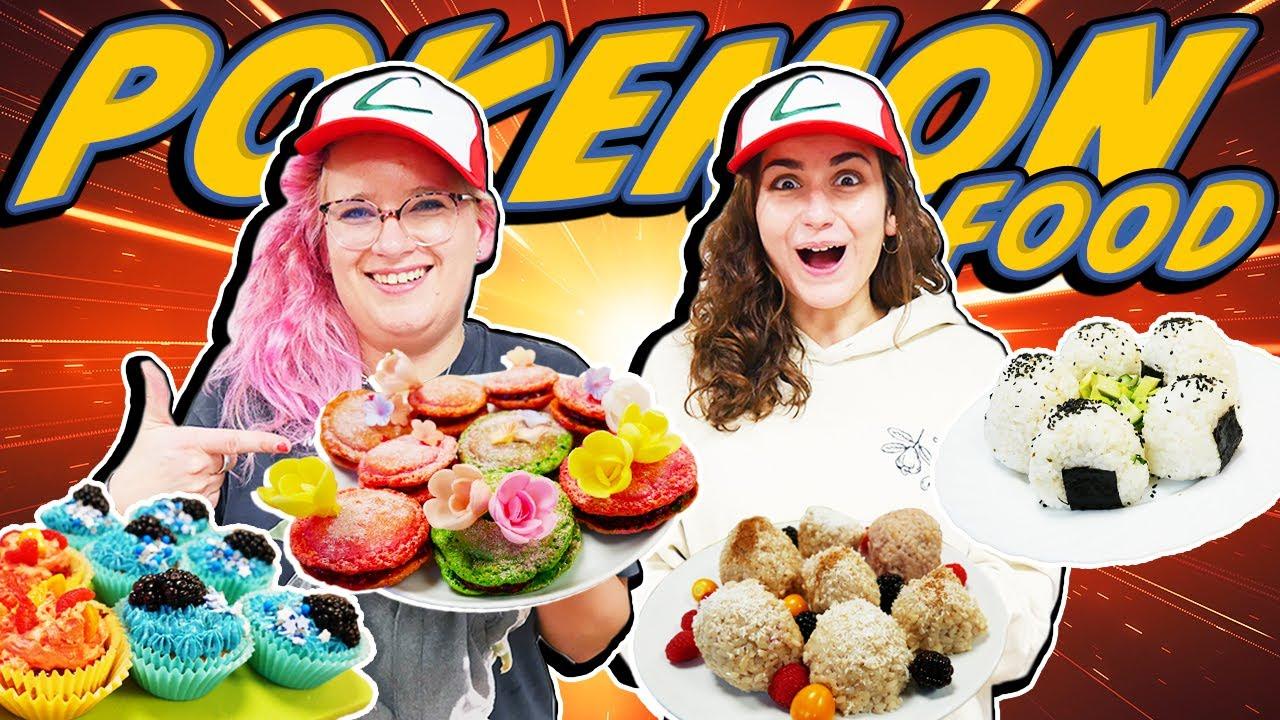 POKEMON FOOD DIY! Eva & Dania machen Poké Puff's und Onigiri