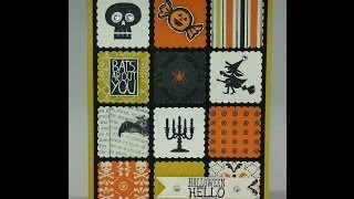 Halloween Card created with Stampin