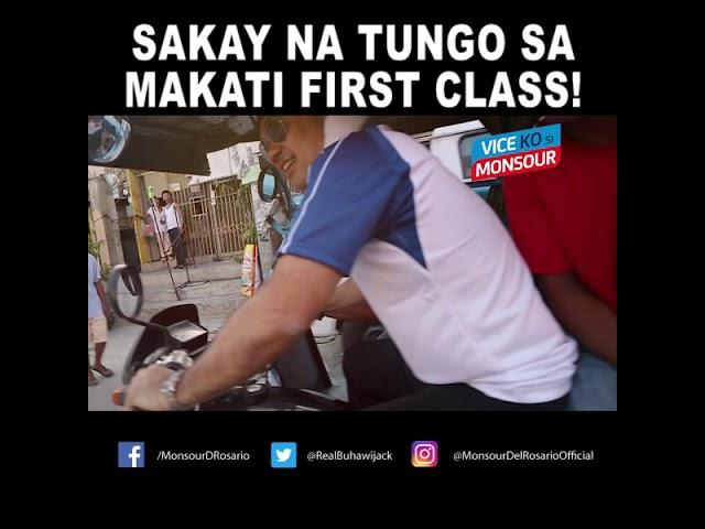 Sakay na tungo sa Makati First Class!