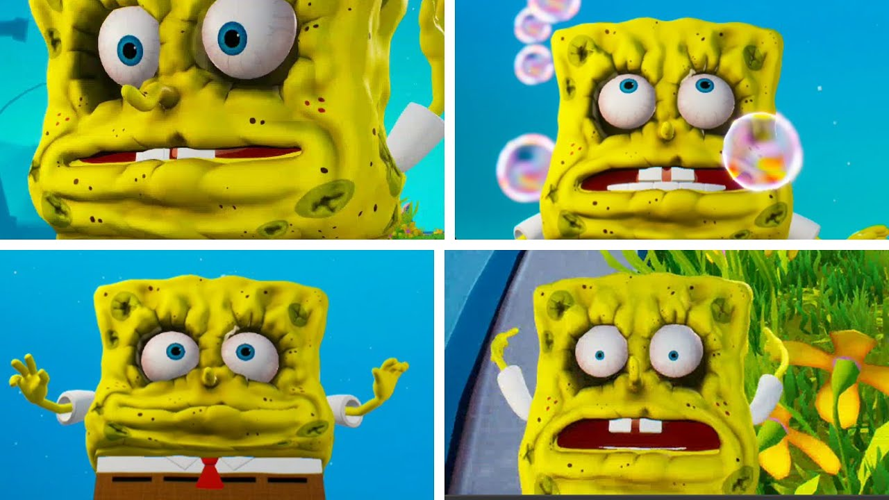 Spongebob Battle For Bikini Bottom Dehydrated
