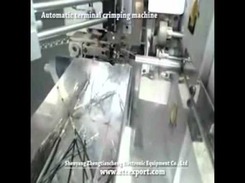 Automatic Terminal Crimping Machine ATAM 6000