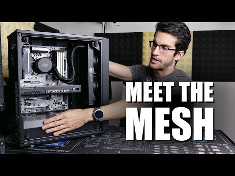 Fractal Design Meshify C Review (Tempered Glass!)