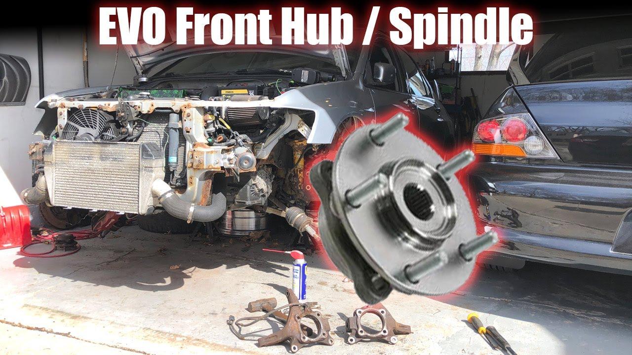 EVO 8/9 Hub - Spindle - Wheel Bearing Removal