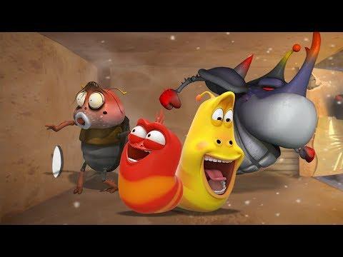 LARVA - HOLE IN THE WALL | Cartoon Movie | Cartoons For Children | Larva Cartoon | LARVA Official
