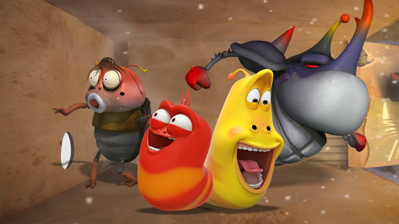 Download LARVA - HOLE IN THE WALL | Cartoon Movie | Cartoons For Children | Larva Cartoon | LARVA Official