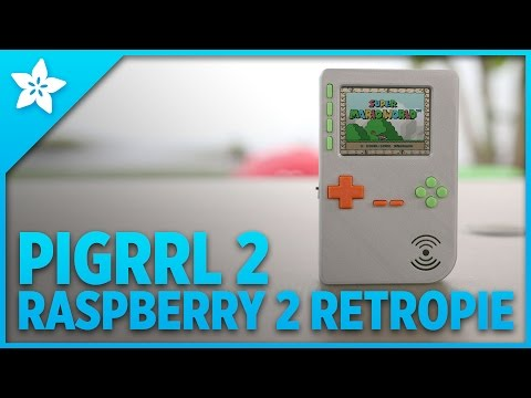 Raspberry Pi 2 Gameboy PiGRRL 2