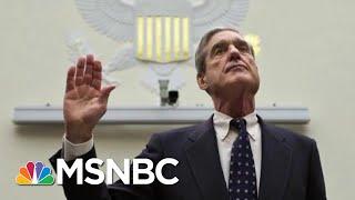 At Barr Suggestion, Klobuchar Asks Mueller About Donald Trump Finances | Rachel Maddow | MSNBC
