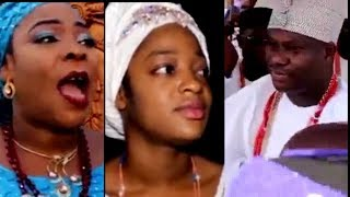 WIFE OF OONI OF IFE AND HER MOTHER PRESENT @ OONI OF OFE OBA ADEYEYE OGUNWUSI 3RD ANNIVERSARY