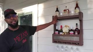 Pallet Wine Rack - DIY with HaiTiaN BoB