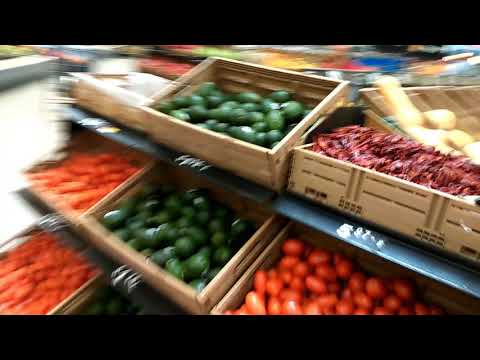 Walmart organic produce and cosmetics shopping trip (Creighton Rd Pensacola Florida)