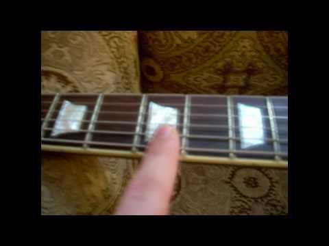 Bari Improv August Rush (Kaki King) Guitar Lesson