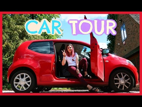 Volkswagen UP! Car Tour + General Driving Chat //  Emily Anna