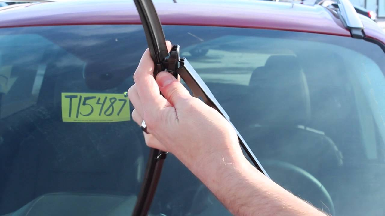 How To Change Your Wiper Blades 2016 Ford Escape