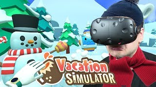FERIE ZIMOWE - Vacation Simulator #3 (HTC VIVE VR)