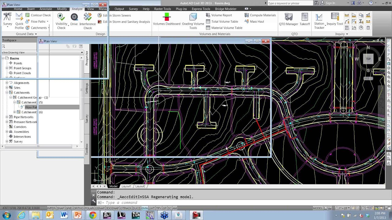 Cad 1 presents hydrology and hydraulics in civil 3d for Cad 3d gratis italiano