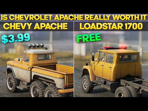 Chevy Apache VS Loadstar 1700 In SnowRunner Is It Worth $3.99 Comparison
