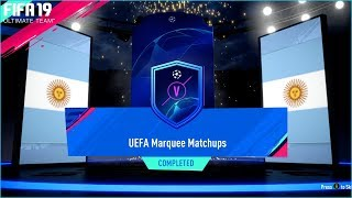 FIFA 19 A Flash Of Brilliance & UCL UEFA Marquee Matchups SBC Completed Reward Packs Ultimate Team