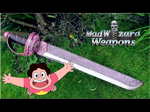 MadWizard Weapons - Rose Quartz Sword ( Steven Universe )