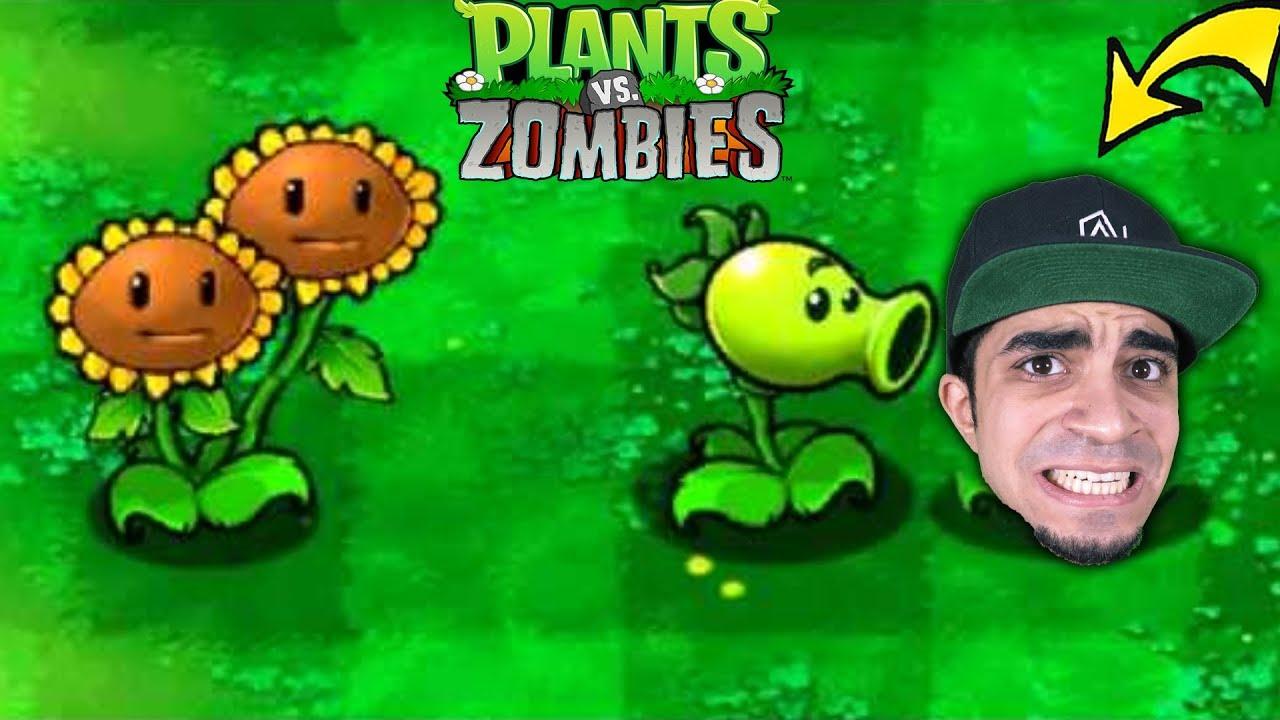 النباتات ضد الزومبي : اقوى حرب Plants vs Zombies !!