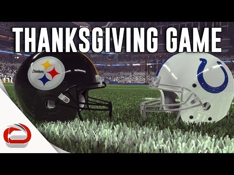 THANKSGIVING DAY FOOTBALL - Pittsburgh Steelers vs. Indianapolis Colts - Game 3
