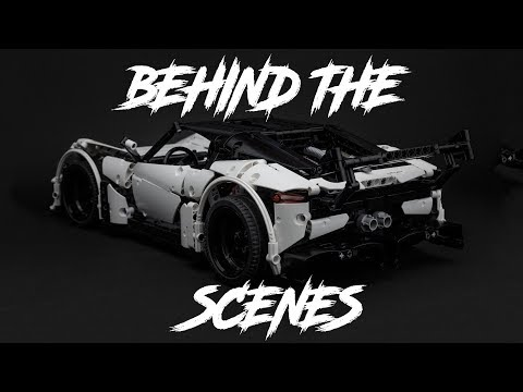 LEGO TECHNIC VOLCANO RS - Behind The Scenes