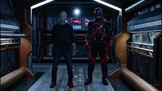 Битва на Корабле | Легенды Завтрашнего Дня (2 сезон 8 серия)