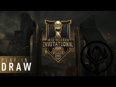 MSI 2018: Play-In Draw Show | Indonesian Broadcast