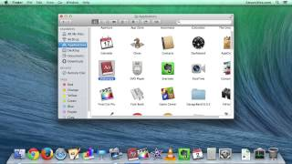 Mac OS X - How to Add and Remove Icons / Apps From Toolbar