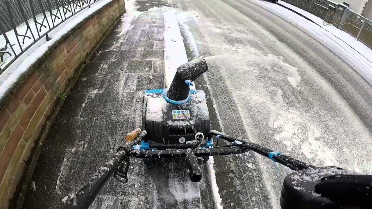 güde schneefräse gesf 400 - youtube