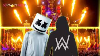 DJ Alan walker vs DJ Marshmello - Alone Vs Faded BreakBeat Remix 2017