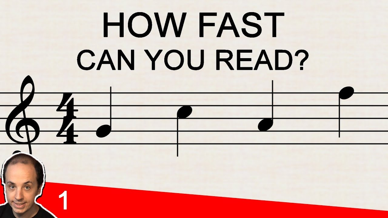 Reading Notes On The Staff Music Note Reading Challenge 1 Youtube