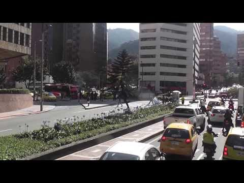 Bogota, Colombia City Tour #1 01 2014