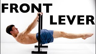 FRONT LEVER. 3 THE MOST EFFECTIVE EXERCISES!