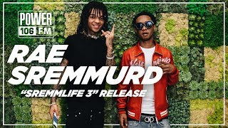 Rae Sremmurd- Sremmlife 3 Tour with Gambino Working with Mike WiLL Made-It and more