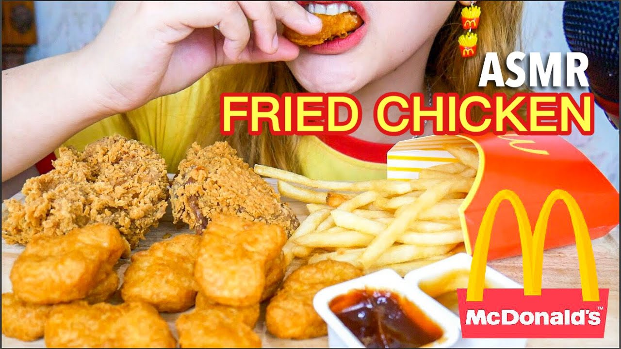 33 Request Asmr Crunchy Eating Sounds Mcdonald S Fried Chicken Nuggets Fries Asmr Indonesia