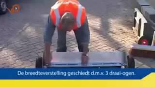 Как в Германии всего один человек может укладывать тротуарную плитку(Сколько нужно рабочих в нашей стране, чтобы уложить 10 квадратных метров тротуарной плитки? Правильно - 10..., 2016-10-06T18:20:09.000Z)