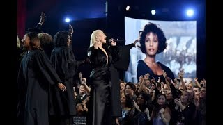 Baixar Audience goes CRAZY over Christina Aguilera's Whitney Houston tribute