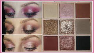 Три макияжа глаз палеткой RELOUIS PARADISO 02 COLD Белорусская косметика Новинки косметики 2021