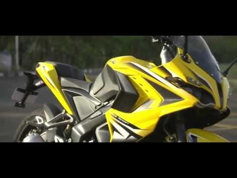 Bajaj Pulsar RS200 - The Benefits of ABS (Anti-lock braking system)