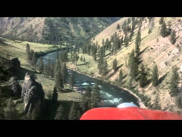 Lower Loon - U72 - Approach and Landing (Idaho backountry) HD