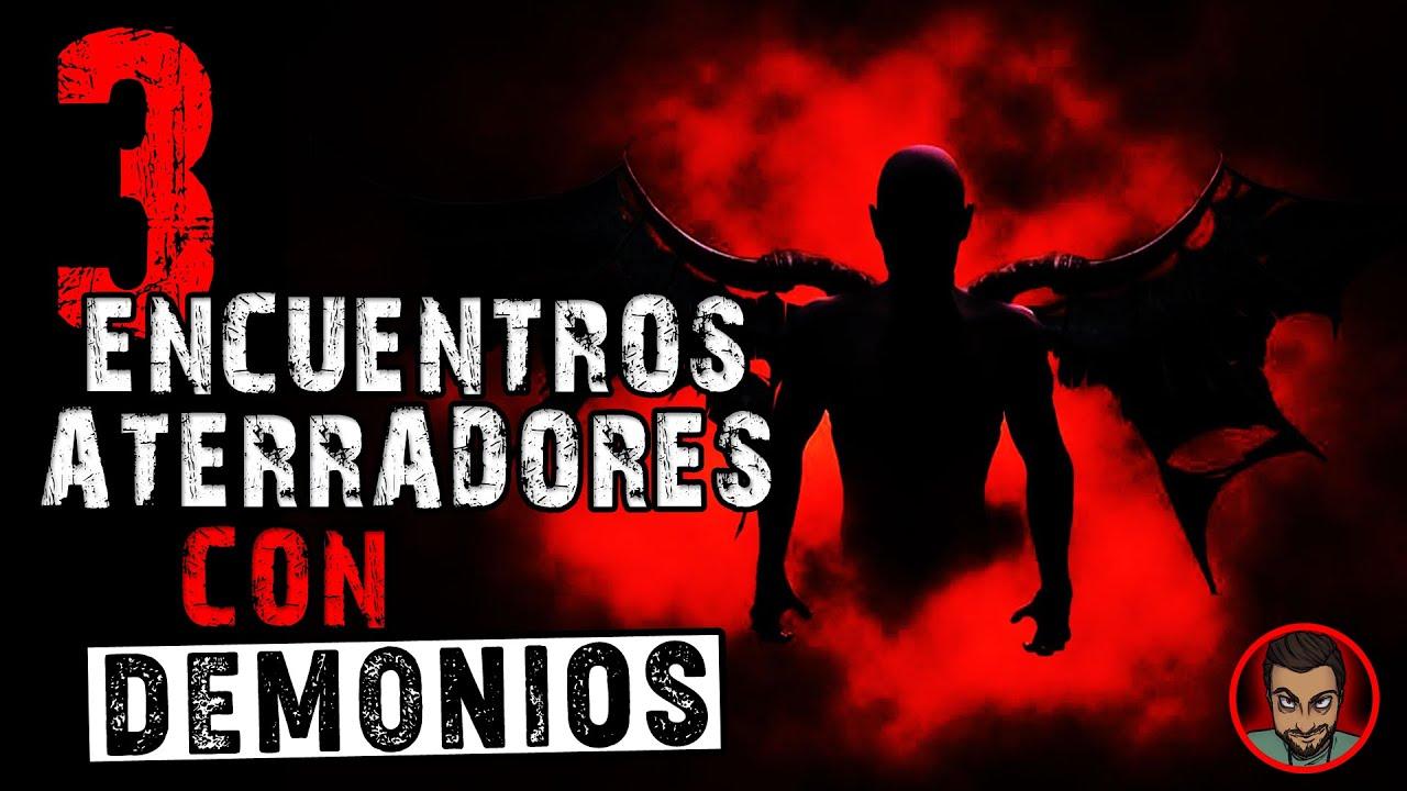 3 EXPERIENCIAS PERTURBADORAS CON DEMONIOS (HECHOS REALES) RELATOS DE HORROR | HISTORIAS DE TERROR