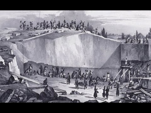 How they created big granite columns