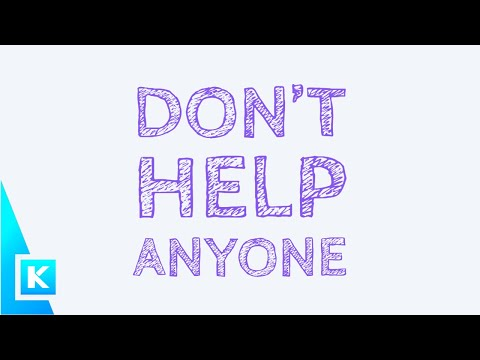 Why You Should Not Help Other People