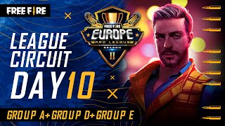 [EN] Free Fire Europe Pro League Season 2 - League Circuit Day 10