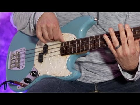 Review Demo - Fender JMJ Road Worn Mustang Bass (Justin Meldal-Johnsen)