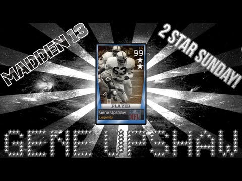 MUT 13: 2 Star Sunday - Gene Upshaw | BCS National Championship